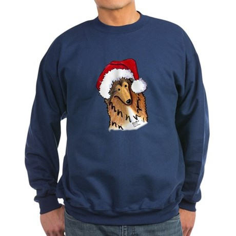 Christmas Collie Sweatshirt (dark)