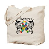 Autism awareness Canvas Bags
