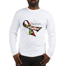 Autism Awareness Ribbon Long Sleeve T-Shirt