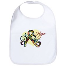 Hope Ribbon - Autism Bib