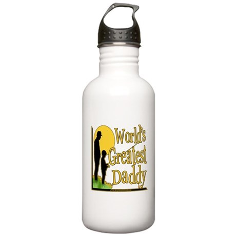 Best Daddy Fishing Stainless Water Bottle 1.0L