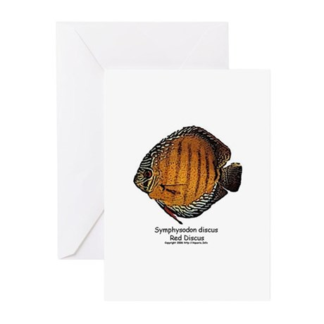 Symphysodon discus Greeting Cards (Pk of 10)