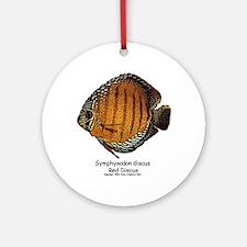 Symphysodon discus Ornament (Round)