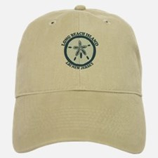 Long Beach Island NJ - Sand Dollar Design Baseball Baseball Cap
