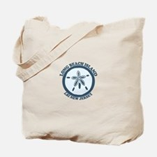 Long Beach Island NJ - Sand Dollar Design Tote Bag