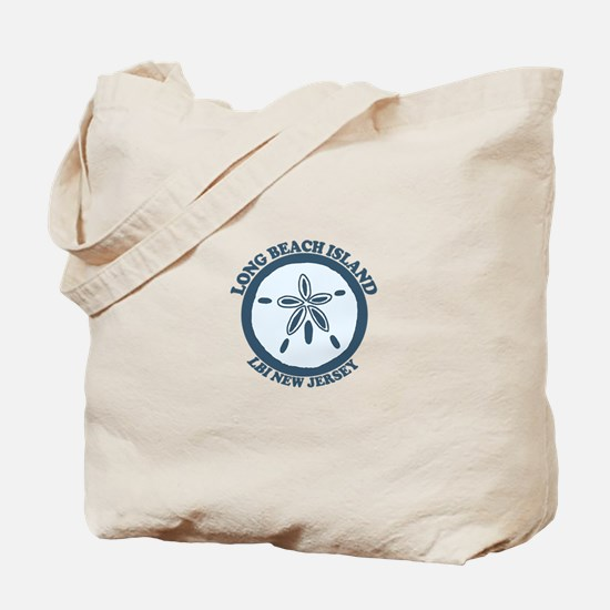 Long Beach Island NJ - Sand Dollar Design Tote Bag