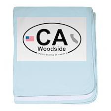 Woodside baby blanket