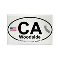 Woodside Rectangle Magnet