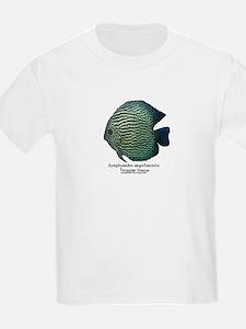 Symphysodon aequifasciata (Di Kids T-Shirt