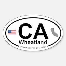 Wheatland Decal