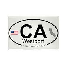 Westport Rectangle Magnet