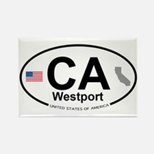 Westport Rectangle Magnet