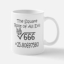 Square Root of Evil Mug