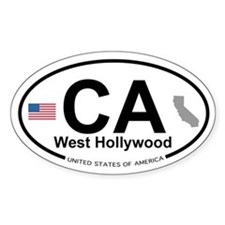 West Hollywood Decal