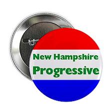 New Hampshire Progressive Button
