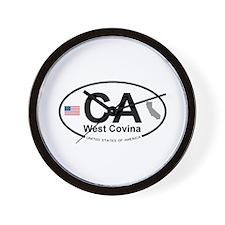 West Covina Wall Clock