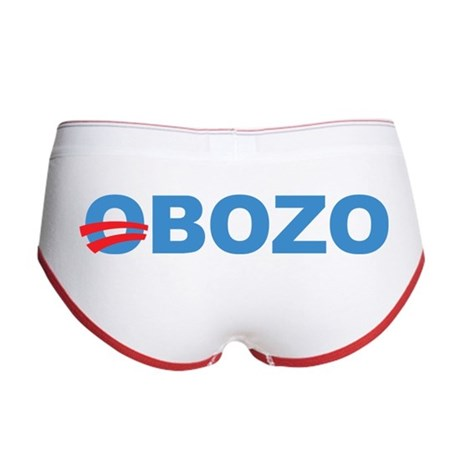 Anti Barack Obama Women's Boy Brief