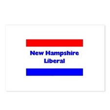 New Hampshire Liberal Postcards (Package of 8)