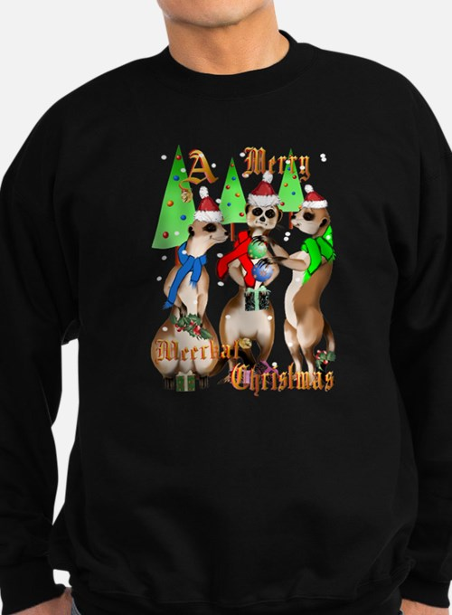 Merry Meerkat Christmas Jumper Sweater