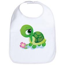 Toshi the Turtle Bib