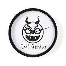 Evil Genius Wall Clock