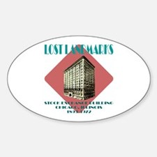 Chicago Stock Exchange Oval Decal