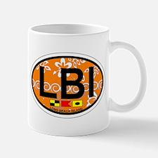 Long Beach Island NJ - Oval Design Mug