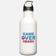 Anti Obama Game Over Water Bottle
