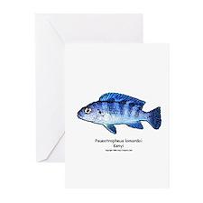 Pseudotropheus lombardoi (Ken Greeting Cards (Pack
