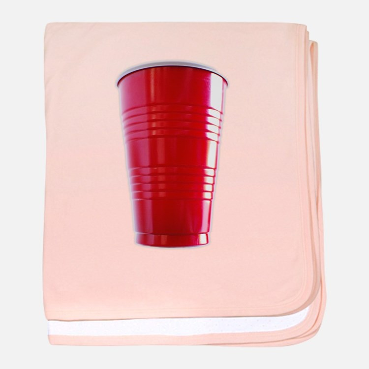 Red Cup Baby! baby blanket