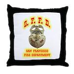 S.F.F.D. Throw Pillow