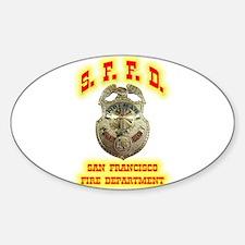 S.F.F.D. Sticker (Oval)