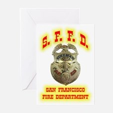 S.F.F.D. Greeting Cards (Pk of 20)
