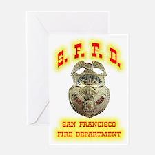 S.F.F.D. Greeting Card