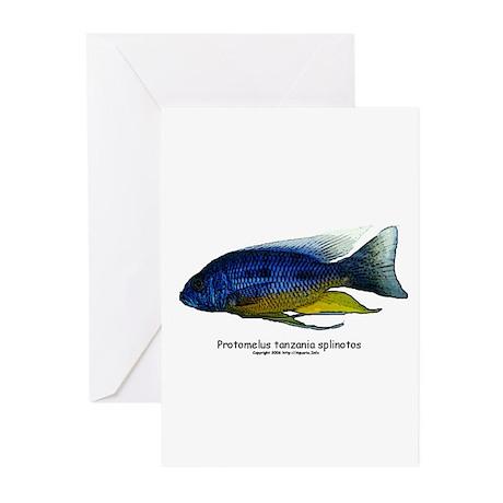 Protomelus tanzania splinotos Greeting Cards (Pack