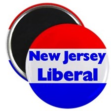 New Jersey Liberal Magnet