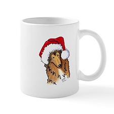 Santa Paws Collie Mug
