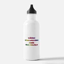 Rainbow PREVENT NOISE POLLUTI Water Bottle