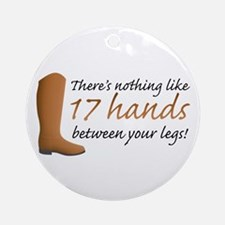 17 Hands Ornament (Round)