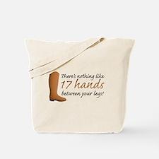 17 Hands Tote Bag