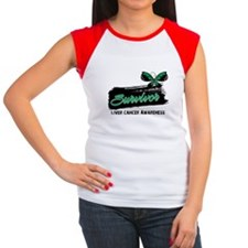 Liver Cancer Survivor Women's Cap Sleeve T-Shirt