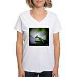 Praying Mantis Women's V-Neck T-Shirt