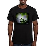 Praying Mantis Men's Fitted T-Shirt (dark)
