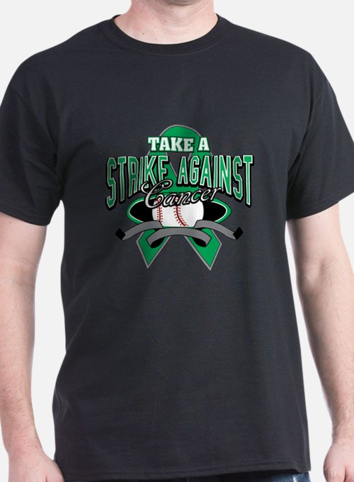 Take a Strike Liver Cancer T-Shirt