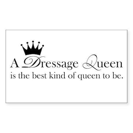 Best King of Queen Sticker (Rectangle)