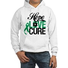 Hope Love Cure Liver Cancer Hoodie