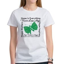 Hope is Everything Liver Canc Tee
