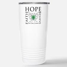 Faith Hope Liver Cancer Travel Mug
