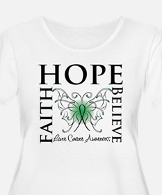 Faith Hope Liver Cancer T-Shirt