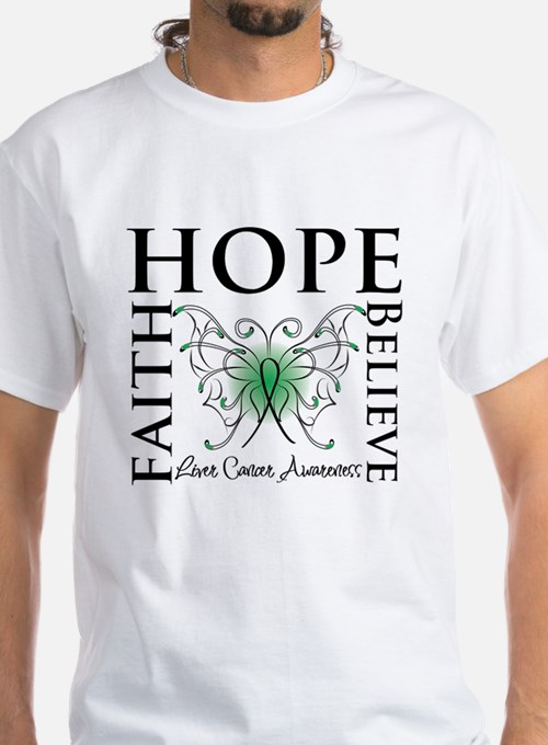 Faith Hope Liver Cancer Shirt